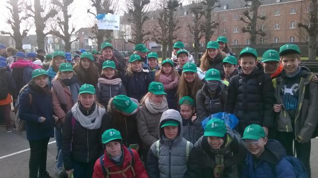 De deelnemers uit Zaffelare