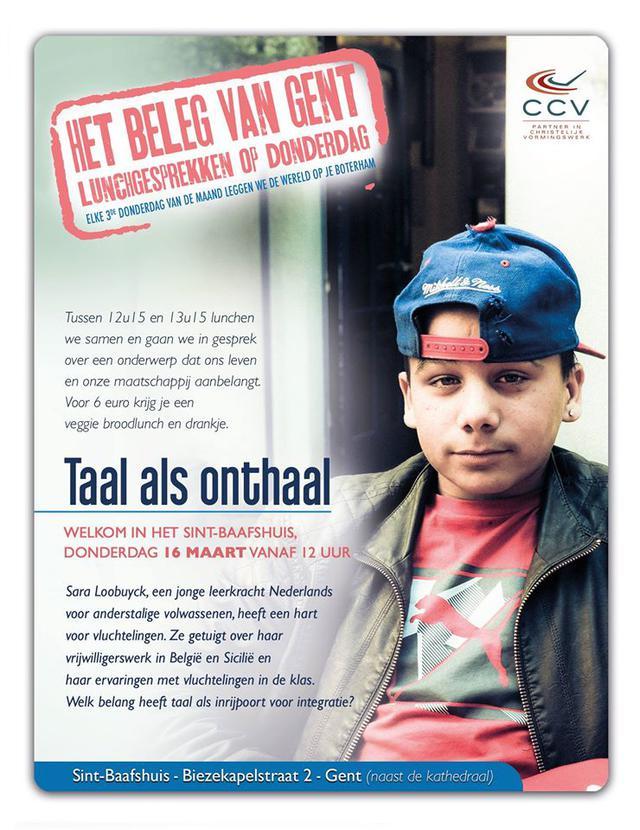 Beleg van Gent, maart 2017 © CCV in het Bisdopm Gent