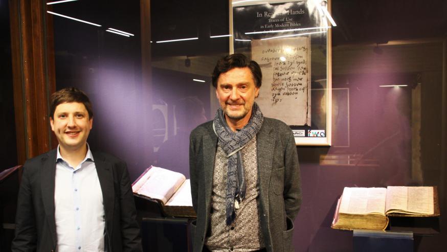 Onderzoekers Bert Tops 'links) en hoogleraar Wim François © Matthias Ausloos