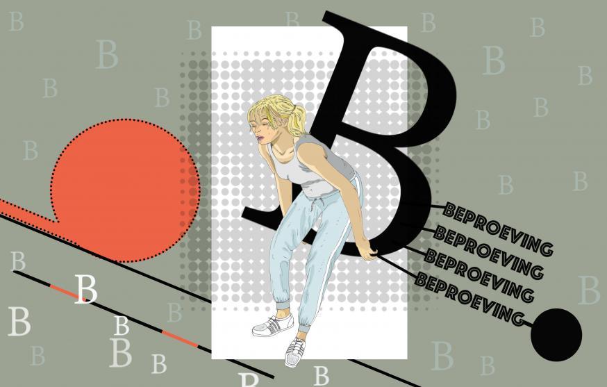 Bijbel van A tot Z: beproeving. Gelovig omgaan met obstakels (beproevingen) leidt tot dieper inzicht, volharding, uitzuivering. © Tynke van Schaik