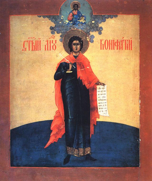 Bonifatius van Tarsus. © Wikimedia