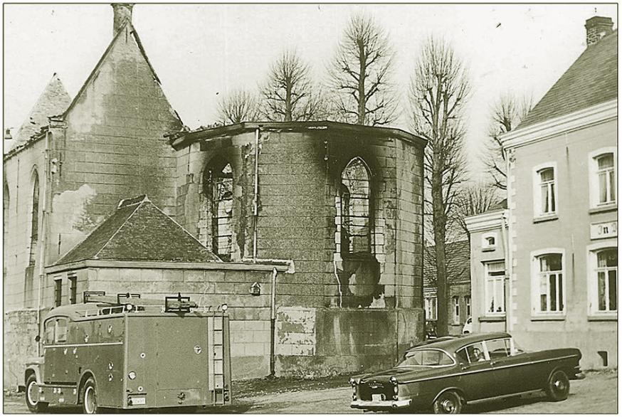 Het Gebedshuis van Kerselare is volledig vernield
