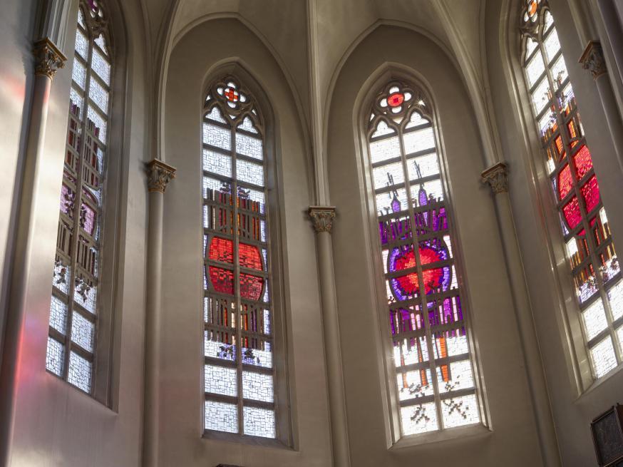 glasraam Sint-Germanus Egem