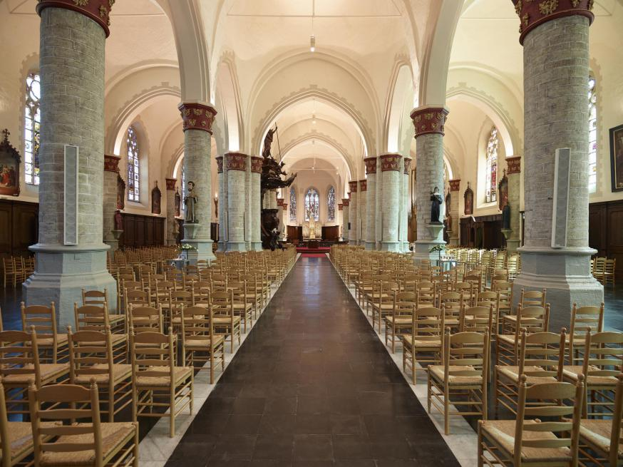 interieur Sint-Pieterskerk