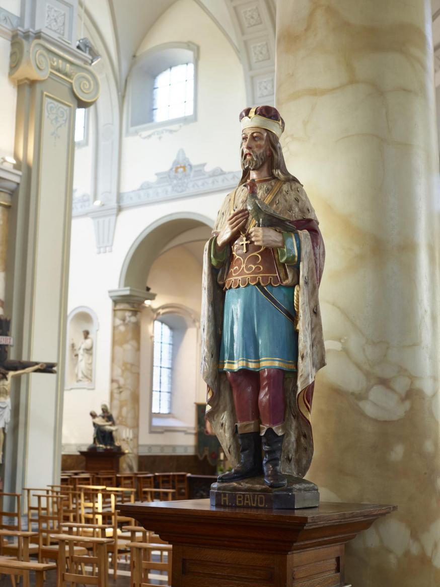 beeld Sint-Bavokerk
