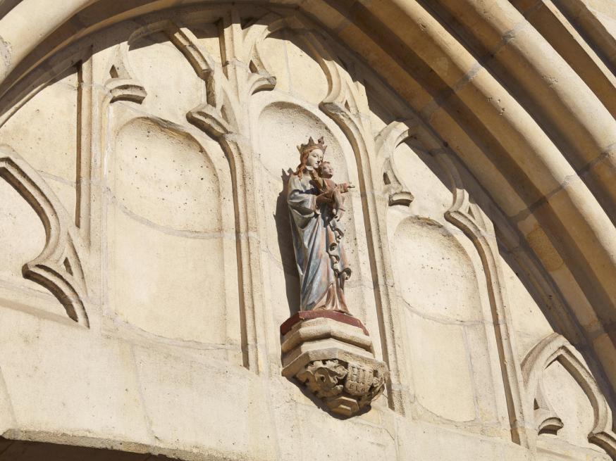 Mariabeeld portaal
