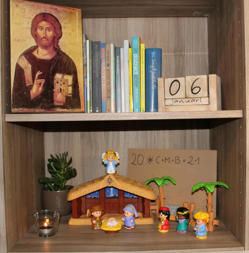Christus, Zegen dit Huis! © Tim Vanmechelen