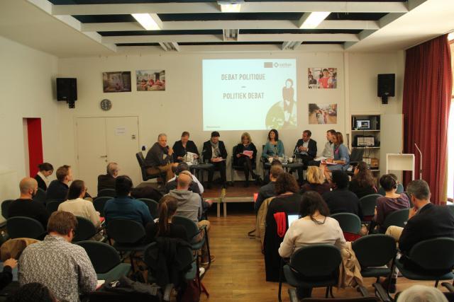 Voorstelling van het rapport in Brussel © Caritas International