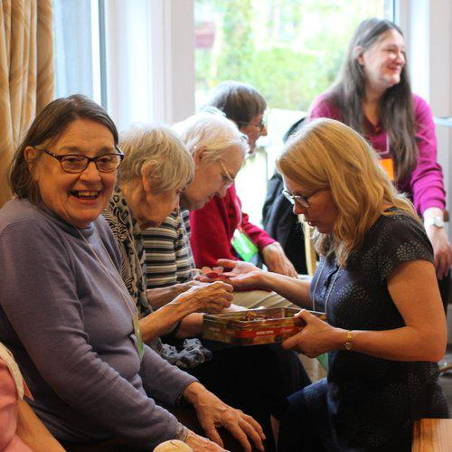 Care home © Kathryn Lord