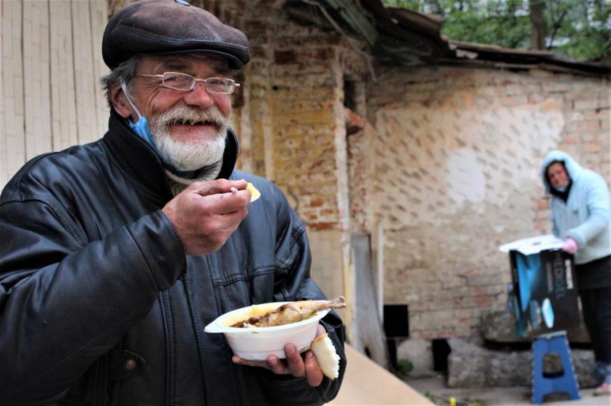 Caritas organiseerde paasmaaltijden voor de armsten in Oekraïne © Caritas Internationalis