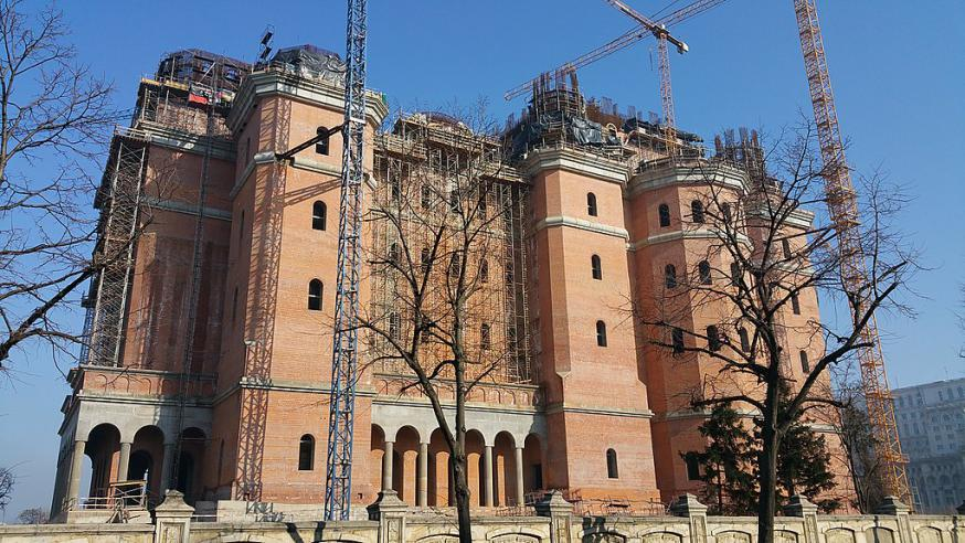 De nieuwe nationale kathedraal van Boekerest © Wikipedia