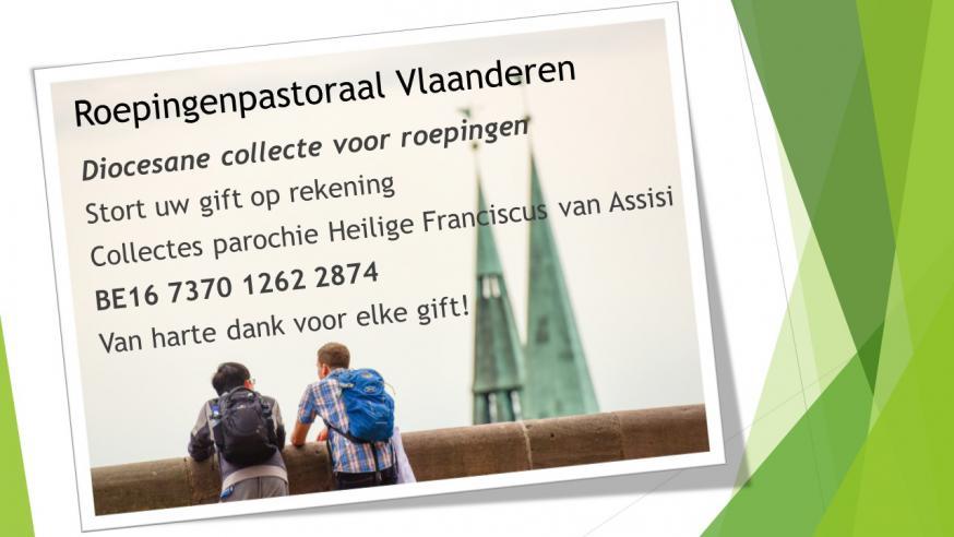 collecte roepingen © parochie in Assenede-Evergem-Zelzate