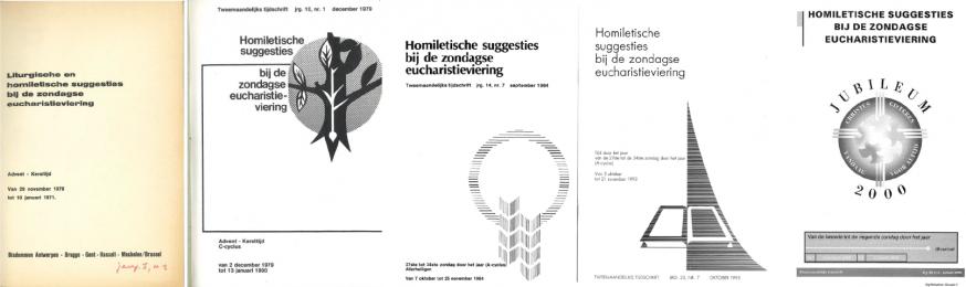 Oude covers van Homiletische suggesties  © ICL