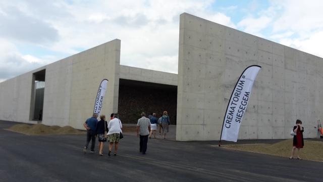 Het crematorium Siesegem te Aalst