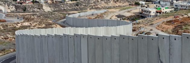 De Israëlische muur door de bezette gebieden  © Latijnse patriarchaat van Jeruzalem