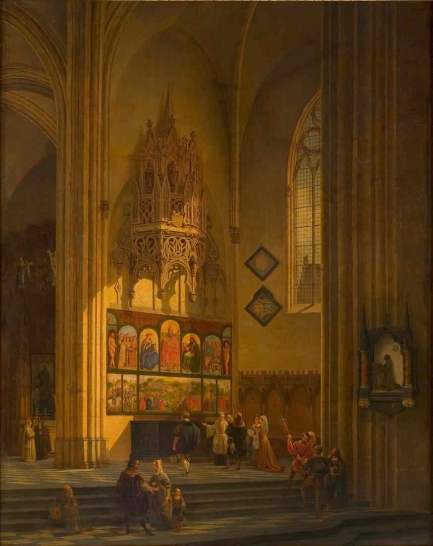Frans De Noter - bezoek van A. Dürer © rr