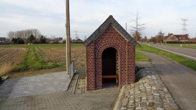 Kinrooi - St.-Antonius kapel richting Maaseik