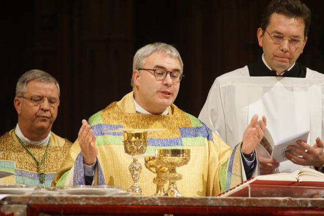 Vicaris-generaal Bruno Aerts © Ignace de Corswarem