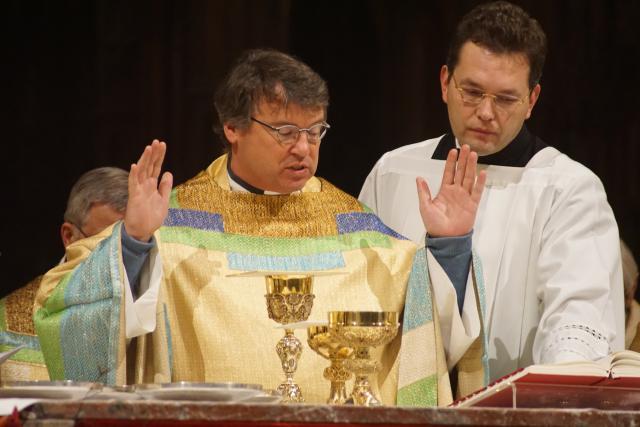 Vicaris Bart Paepen, pastoor van de Onze-Lieve-Vrouwekathedraal © Ignace de Corswarem
