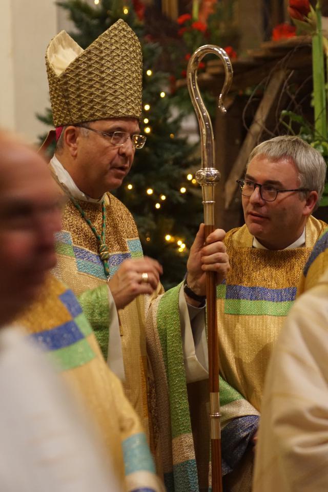 Eucharistie 10 jaar bisschop Johan Bonny © Ignace de Corswarem