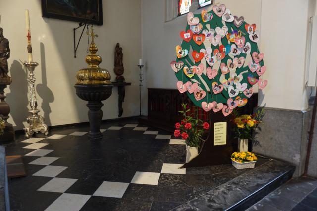 naamopgave eerste communie © parochie Onze-Lieve-Vrouw Lichtaart