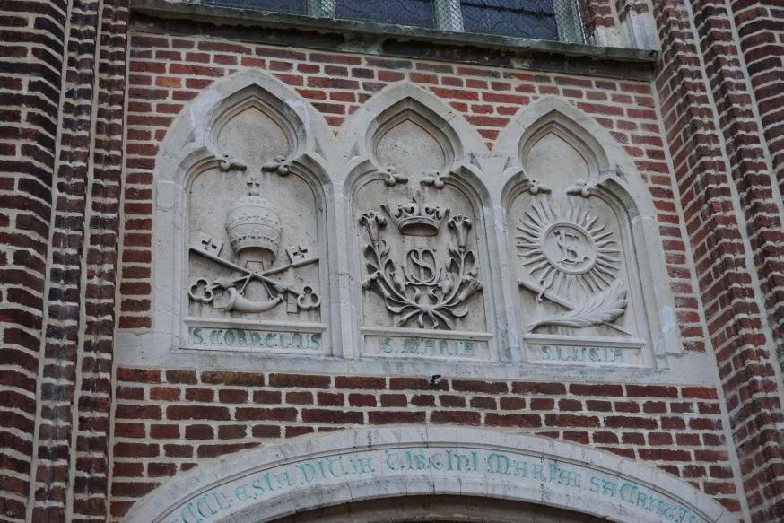 herstelling kerkdeur © parochie Onze-Lieve-Vrouw Lichtaart
