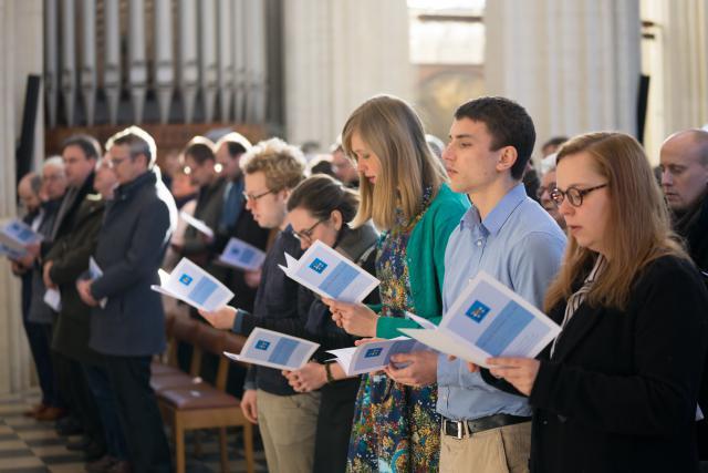Studenten van Leo XIII hielpen de viering mee organiseren