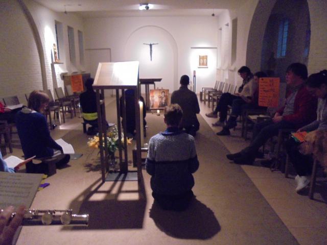 gebed in de geest van Taizé