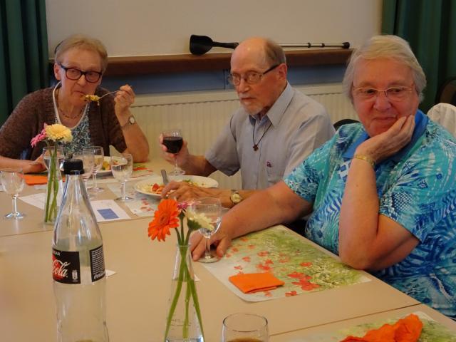 De familie Verhulst is altijd van de partij © Mia Verbanck