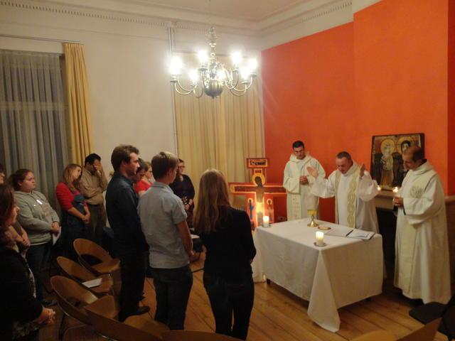 Eucharistie vieren op Just try God