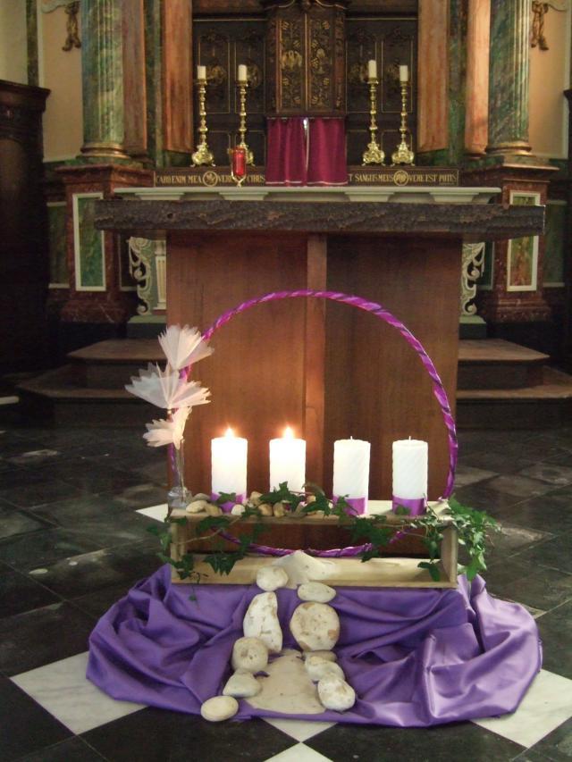 Kerkversiering dekenaat Eeklo © ICL
