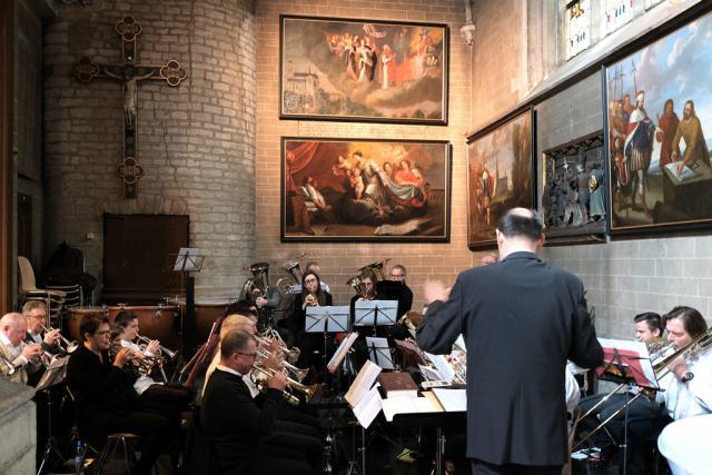 Alsemberg 775 jaar. Brass-Band Alsemberg © Hugo Casaer