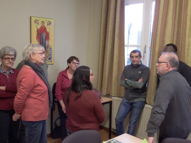 Maandag 11 maart - Welkom Migdalia in onze parochie © Parochie in Assenede-Evergem-Zelzate