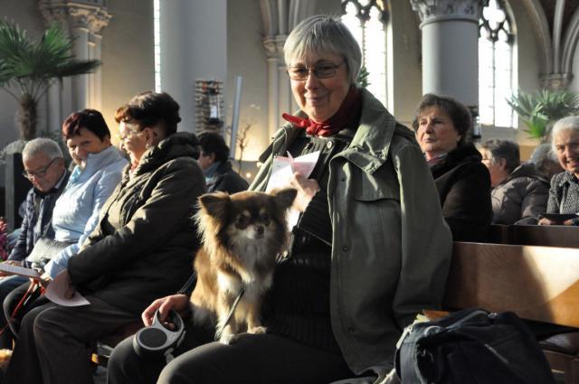Sint-Hubertusviering met dierenzegening © Daniël Duwyn