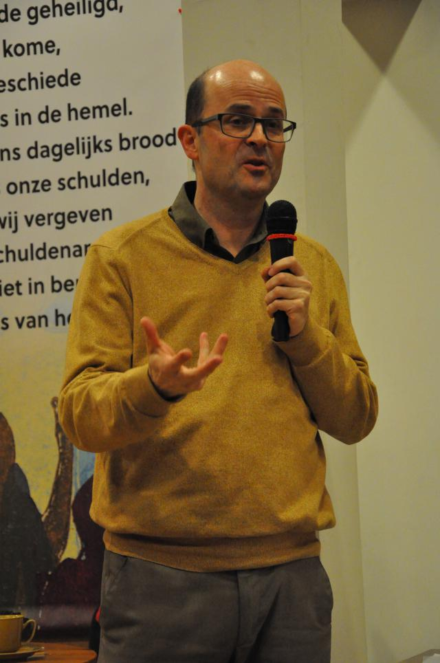 Luk Vanmaercke, hoofdredacteur Kerk & Leven © Daniël Duwyn