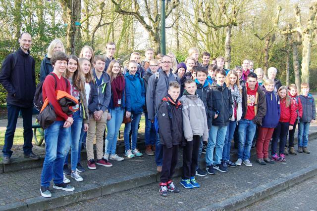 Groepsfoto in Brugge (2015)