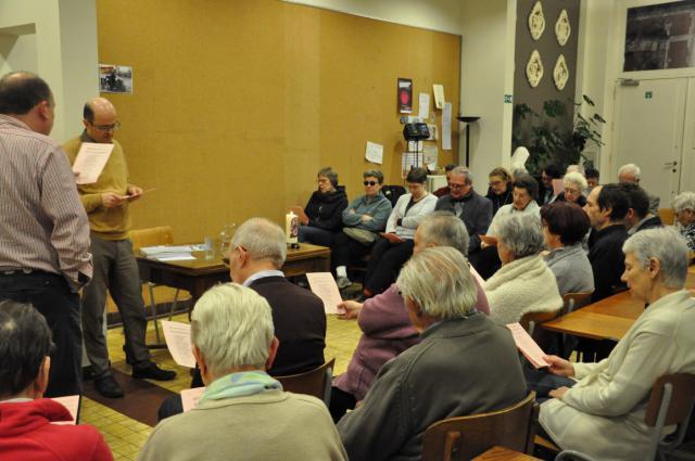 Vastenconferentie met Luk Vanmaercke © Daniël Duwyn