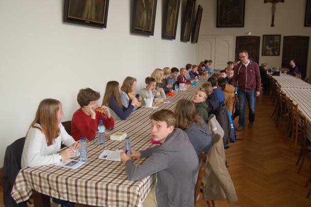 Maaltijd in het seminarie van Brugge (2015)
