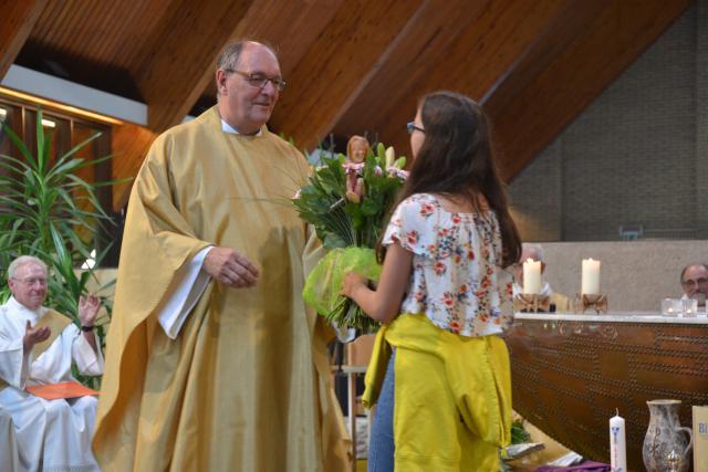 Bedankt, Filip Debruyne, dat je onze nieuwe pastoor wil zijn © Hans van Hove