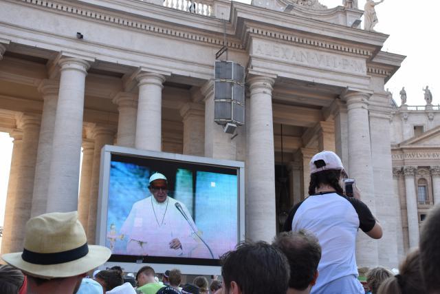 Luisteren naar de boodschap van Paus Franciscus