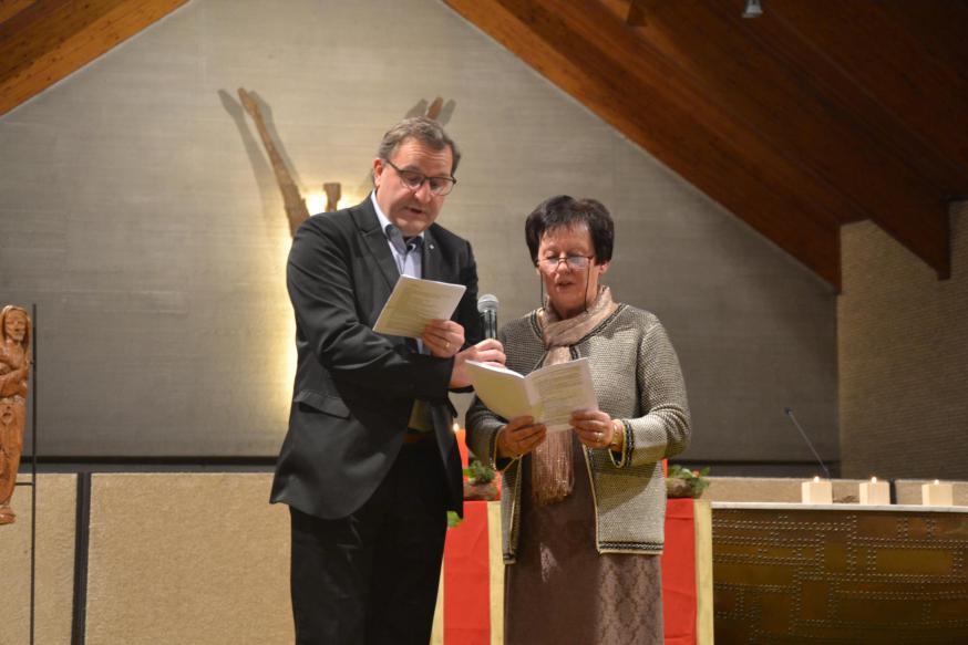 De nieuwe leden Hans van Hove en Sabine Christiaens © Karen Devroe