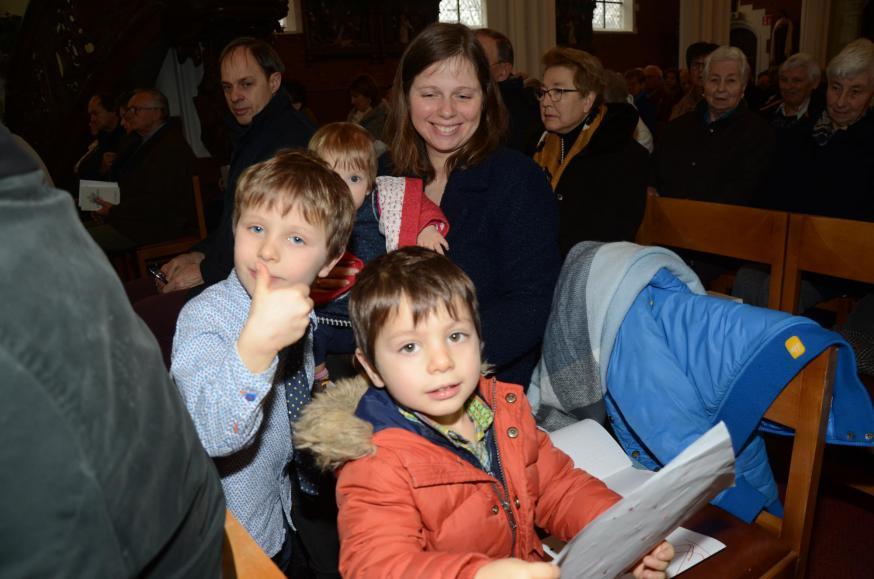 Chris Ruelens richt zich tot de kinderen die hun naam zullen opgeven © Jan De Broeck