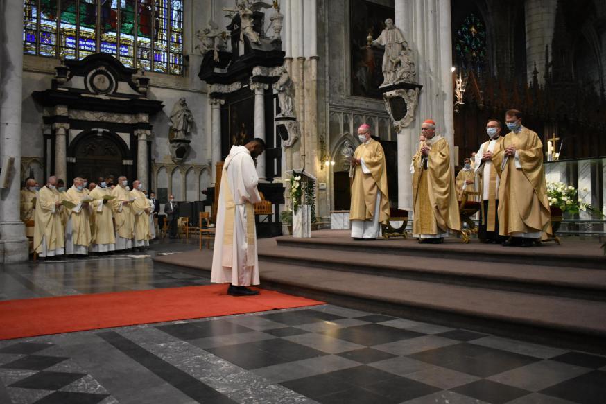 Misviering door Pastor Benno Haeseldonckx  © Jan De Broeck