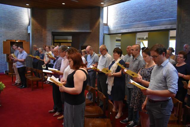 Slotviering Opleiding Permanent Diaconaat en Pastoraal Werk van het Aartsbisdom (Nederlandstalig) werkjaar 2019 © Florin Vlad