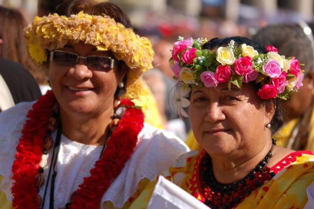 Er was ook een grote delegatie uit Hawai © Philippe Keulemans