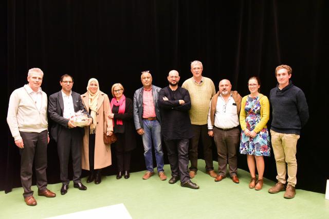 een samenwerking tussen Vormingplus Limburg, dienst diversiteit en gelijke kansen stad Genk en CCV Hasselt © Tonino DiPIETRANTONIO