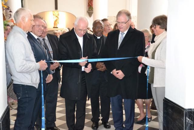 Kardinaal De Kesel opent de schatkamer van Hanswijk © Persdienst aartsbisdom