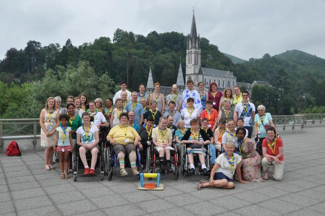 KiJoLo in Lourdes