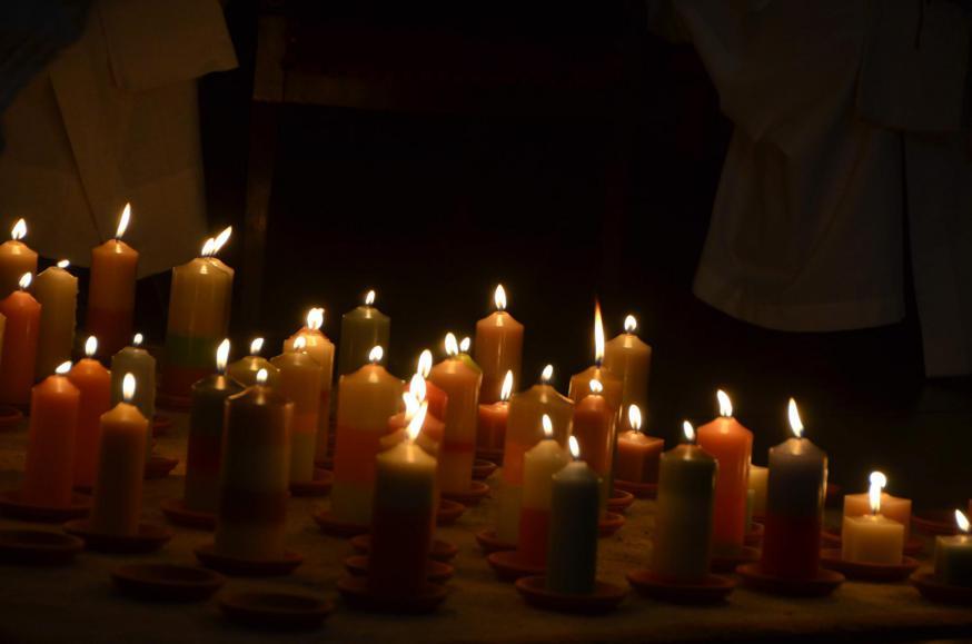 Jezus, U bent het licht in ons leven © Mariette Dhondt