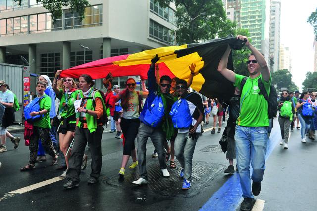 wereldjongerendagen Rio 2013